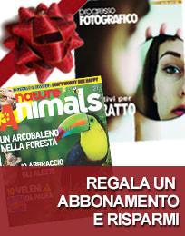 Regala un abbonamento: Nature & Animals e Progresso Fotografico