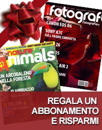 Regala un abbonamento: Nature & Animals e Tutti Fotografi