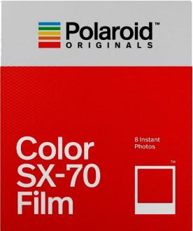 Polaroid serie SX-70 a colori, cornice bianca