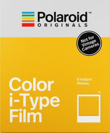 Polaroid serie I-TYPE a colori, cornice bianca