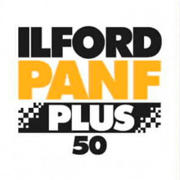 ILFORD Pan F Plus (formato 120): 5 rulli