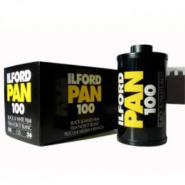 ILFORD Pan 100 (formato 135): 5 rulli