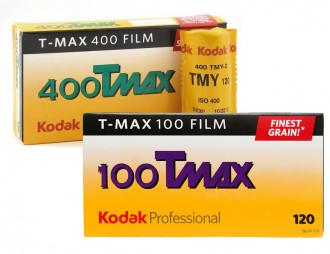 KODAK T-MAX 100 (formato 120): confezione da 5 pellicole