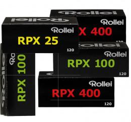 ROLLEI RPX  (formato 120): 5 rulli