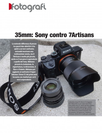 35mm: Sony contro 7Artisans