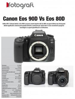 Canon Eos 90D Vs Eos 80D
