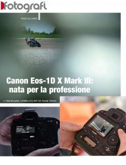 Canon Eos 1D X Mark III: una reflex Formula 1
