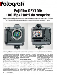 In prova Fujifilm GFX 100 medio formato. Articolo gratuito