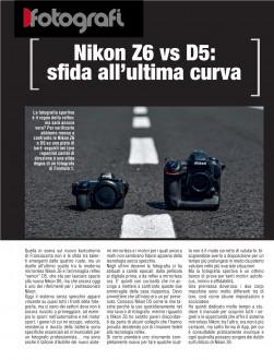 Nikon Z6 vs D5: sfida all'ultima curva