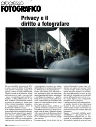 Privacy e il diritto a fotografare