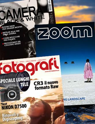 Abbonamento: Tutti Fotografi, Zoom e Classic Camera
