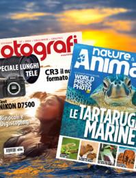 Abbonamento: Nature & Animals e Tutti Fotografi