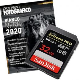 Progresso Fotografico, abbonamento con in regalo SanDisk PRO 32 GB