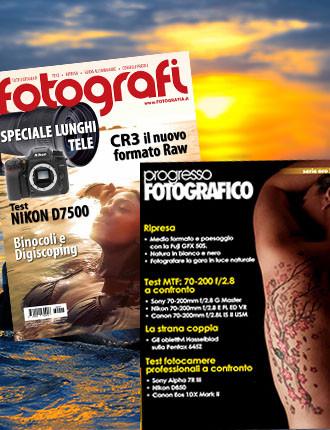 Abbonamento: Tutti Fotografi e Progresso Fotografico