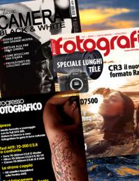 Abbonamento: Progresso Fotografico, Tutti Fotografi e Classic Camera