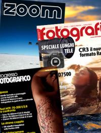 Abbonamento: Progresso Fotografico, Tutti Fotografi e Zoom