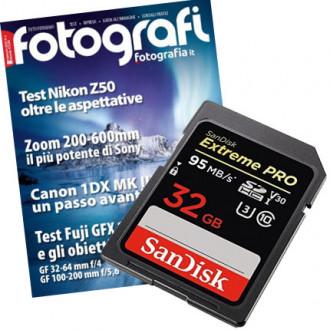 Tutti Fotografi, abbonamento con in regalo SanDisk PRO 32 GB