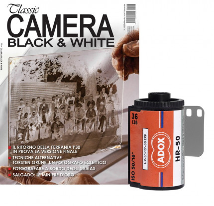 Classic Camera, abbonamento + Adox HR 50