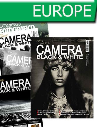 Subscription: EUROPE: Classic Camera Black & White