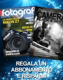 Regala un abbonamento: Tutti Fotografi e Classic Camera