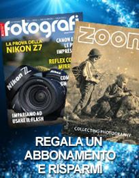 Regala un abbonamento: Tutti Fotografi e Zoom