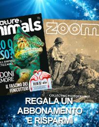 Regala un abbonamento: Nature & Animals e Zoom