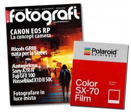 Tutti Fotografi, abbonamento + una confezione di Polaroid SX-70