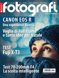 Tutti Fotografi Dicembre 2018: in prova Canon EOS R