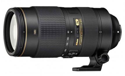 Nikon AF-S Nikkor 80-400mm f/4.5-5.6 G ED VR