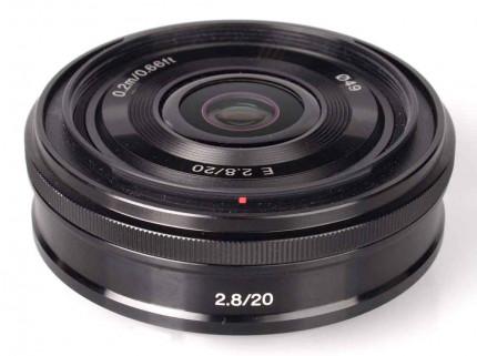 Sony E 20mm f/2.8