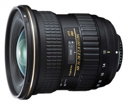 Tokina AT-X Pro SD 11-20mm f/2.8 IF DX Asph