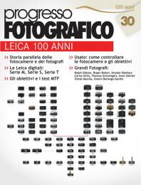 Progresso Fotografico 30: dedicato ai 100 anni di Leica