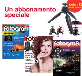 Tutti Fotografi, abbonamento + Manfrotto Pixi